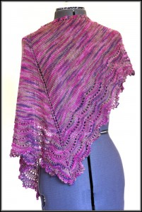 Love the color and the beads are a nice pink color and they also add a great drape