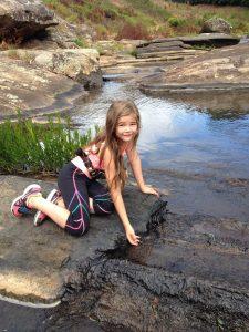 Exploring the creek