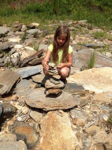 Concentration was needed to balance those rocks